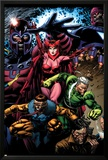 X-Men: Legacy No.209 Cover: Toad, Quicksilver, Scarlet Witch and Magneto Print by David Finch