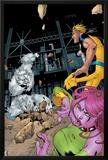 Exiles No.58 Cover: Mimic, Sasquatch, Blink and Exiles Print by Mizuki Sakakibara