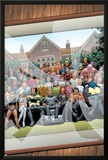 New X-Men No.126 Cover: Professor X, Cyclops, Grey, Jean, Wolverine and Beast Print by Frank Quitely