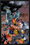 Uncanny X-Men: First Class No.7 Cover: Colossus and Wolverine Posters by Reilly Brown