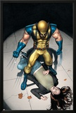 The Pulse N9 Cover: Wolverine, Jones and Jessica Posters by Michael Lark