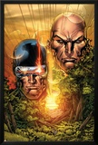 X-Men: Legacy No.215 Cover: Cyclops, Xavier and Charles Photo by Ken Lashley