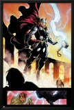 Chaos War No.1: Thor Floating Posters by Khoi Pham