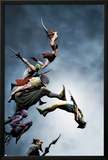 Wolverine No.13 Cover: Wolverine Fighting Prints by Jae Lee