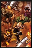 The Amazing Spider-Man No.643 Cover: Shocker, Kraven the Hunter, Sandman, Rhino, and Ana Kravinoff Poster by Marko Djurdjevic
