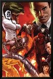 The Amazing Spider-Man No.644 Cover: Norman Osborn, Lizard, Menace, and Mister Negative Posing Posters by Marko Djurdjevic