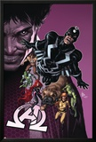 New Avengers 8 Cover: Medusa, Black Bolt, Lockjaw, Gorgon, Triton, Crystal, Karnak, Maximus Posters by Mike Deodato