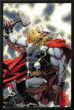 The Mighty Thor No.11 Cover: Thor Standing with Mjonir Print by Dale Keown