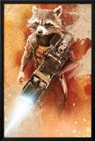 Guardians of the Galaxy - Rocket Raccoon Print