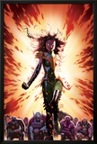 What If Avx 3 Cover: Summers, Hope, Thor, Spider-Man, Wolverine, Cyclops, Phoenix, Storm Posters by Jorge Molina