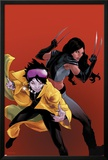 X-23 No.20 Cover: Jubilee and X-23 Prints by Kalman Andrasofszky