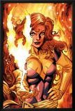 X-Men Forever 2 No.16 Cover: A Flaming Phoenix Posters by Tom Grummett