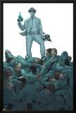 X-Club No.4 Cover: Dr. Nemesis Posters by Rodin Esquejo