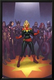 Avengers: the Enemy Within 1 Cover: Captain Marvel, Thor, Iron Man, Hawkeye, Black Widow Posters by Joe Quinones
