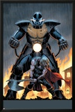 Uncanny Avengers 6 Cover: Apocalypse, Thor Posters by John Cassaday