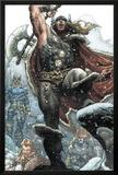 Thor: For Asgard No.1: Thor Smashing Posters by Simone Bianchi