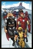 Daken: Dark Wolverine No.9.1: Wolverine, Thor, Iron Man, Spider-Man and Others Prints by Ron Garney