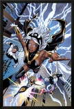 Uncanny X-Men No.531: Storm, Northstar, Angel, Dazzler, and Pixie Flying Prints by Greg Land