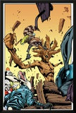 Annihilators No.3: Rocket Raccoon and Groot Print by Timothy Green II