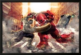 The Avengers: Age of Ultron - Hulk Fights Hulkbuster Posters