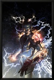S.H.I.E.L.D. No.5 Cover: Nikola Tesla Standing with Energy Posters by Gerald Parel