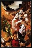 Amazing Spider-Man No.642 Cover: Peter Parker, Scorpion, Morbius, Rhino, and Anti-Venom Standing Prints by Marko Djurdjevic