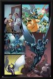Origins of Marvel Comics: X-Men No.1: Archangel Flying Prints by Tom Raney