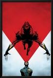 Wolverine No.8 Cover: Cyclops Using his Optic Blast on Wolverine Prints by Jae Lee