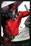 Vengeance No.1 Cover: Magneto Smashing Prints by Gabriele DellOtto