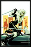 Amazing Spider-Man Presents: Black Cat No.3 Cover: Black Cat Jumping Prints by Amanda Conner