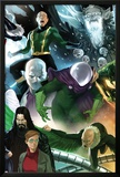 The Amazing Spider-Man No.646 Cover: Mysterio, Chameleon, Electro, and Vulture Standing Prints by Marko Djurdjevic