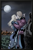 Hawkeye & Mockingbird No.4: Hawkeye and Mockingbird Kissing Posters by David Lopez