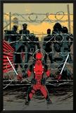 Deadpool 16 Cover: Deadpool, Colossus, Sunfire, Banshee, Wolverine, Cyclops, Storm, Prints by Declan Shalvey