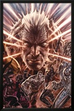 X-Men Legacy: 221 Cover Featuring Xavier, Charles, Colossus, Nightcrawler, Ms. Marvel Prints by Lee Bermejo