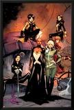 X-Men 1 Cover: Jubilee, Pryde, Kitty, Summers, Rachel, Rogue, Storm, Psylocke Poster by Olivier Coipel