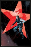 Winter Soldier 17 Cover: Winter Soldier Print by Declan Shalvey