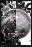 Longshot Saves the Marvel Universe 4 Cover: Longshot, In-Betweener Prints by David Nakayama