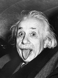 Arthur Sasse - Albert Einstein with his Tongue Out - Reprodüksiyon