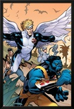 Uncanny X-Men 506 Cover Featuring Beast, Angel Prints by Terry Dodson