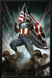 Captain America: Living Legend 1 Cover: Captain America Prints by Adi Granov