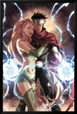 Dark Reign: Young Avengers No.4 Cover: Wiccan and Enchantress Affischer av Mark Brooks
