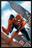 The Amazing Spider-Man No.546 Cover: Spider-Man Print by Steve MCNiven
