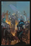 Avengers 24 Cover: Wolverine, Black Widow, Captain America, Spider-Man, Iron Man, Hulk, Thor Posters by Esad Ribic