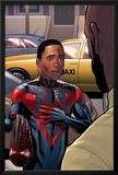 Cataclysm: Ultimate Spider-Man 2 Featuring Spider-Man, Miles Morales Posters by David Marquez