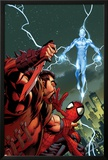 Ultimate Spider-Man No.159 Cover: Kraven The Hunter and Electro for the Death of Spider-Man Posters by Mark Bagley