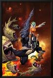 Venom: Spaceknight 1 Cover Featuring Venom Posters by Ariel Olivetti