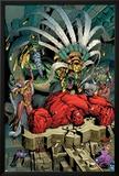 Hulk 56 Cover Featuring Red Hulk Prints by Dale Eaglesham