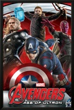 The Avengers: Age of Ultron - Captain America, Thor, Hawkeye and Vision Photo