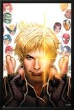 Longshot Saves the Marvel Universe 1 Cover: Longshot, Captain America, Hulk, Cyclops, Thor Posters by David Nakayama
