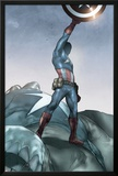 Ultimatum: X-Men Requiem 1 Featuring Captain America Print by Ben Oliver